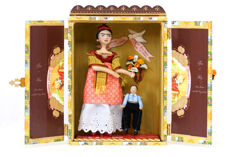 Christine Alvarado-open Frida and Diego