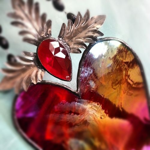 Flamming heart