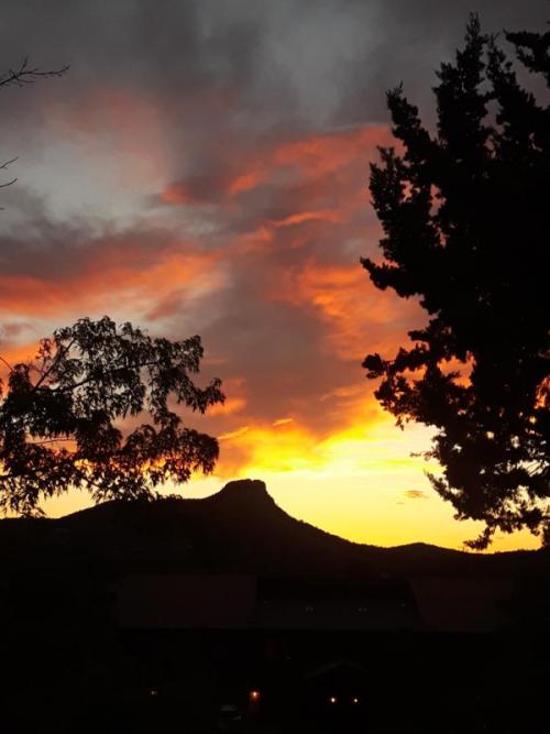 Thumb butte sunset